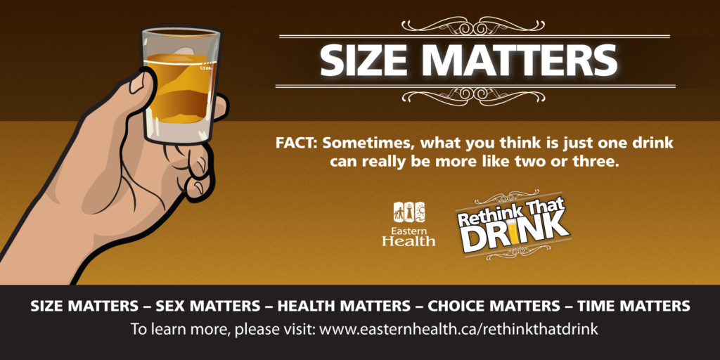 Rethink That Drink, Eastern Health Campaign